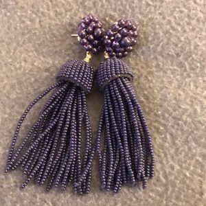 Lisi Lerch purple tassel earrings